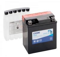 Аккумуляторы Аккумулятор на мотоцикл Exide Maintenance Free [ETX7L-BS] 6CT-6Ач, пуск ток EN100 А 113x70x130мм