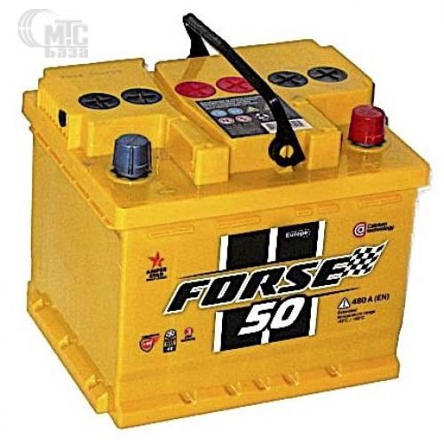 Аккумулятор Forse Premium 6CT-50 L EN 480 А 207x175x175