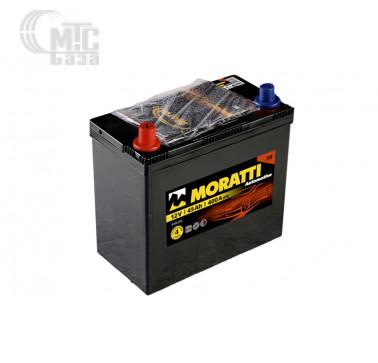 Аккумуляторы Аккумулятор Moratti 6СТ-50 L Asia  545027033  EN400 А 196x134x226 мм