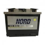 Аккумуляторы Аккумулятор Nord 6СТ-60Ah R 480A Nord  242x175x190