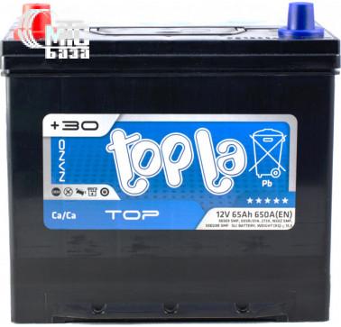 Аккумуляторы Аккумулятор Topla Top JIS 6СТ-65 L [56569 SMF] EN650 А 230x172x220мм