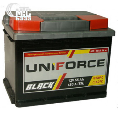 Аккумулятор UniForce 6CT-60 L  EN480 А 242x175x190мм