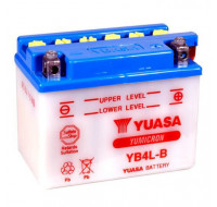 Аккумуляторы Аккумулятор на мотоцикл Yuasa Yumicron [YB4L-B] 6СТ-4 Ач R EN45 А 120x70x92мм