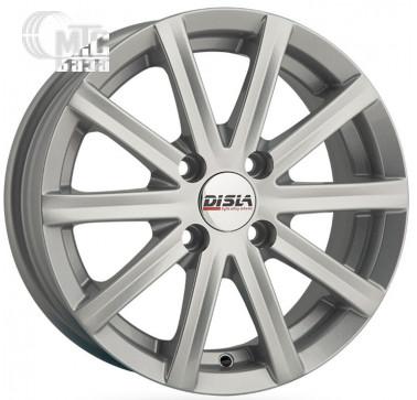 Диски Disla Baretta 5,5x13 4x114,3 ET30 DIA67,1 (silver)
