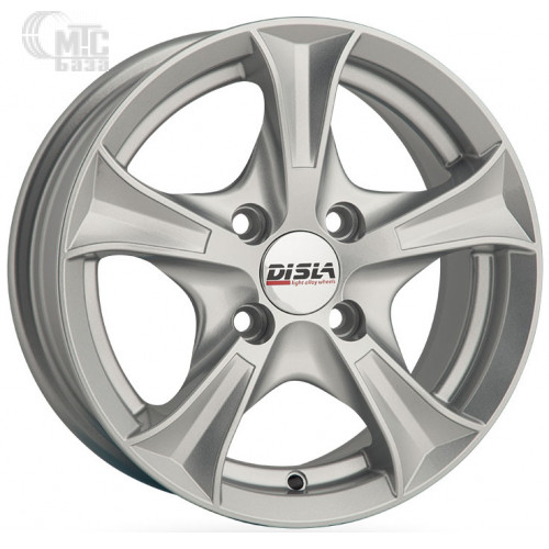 Disla Luxury 7,5x17 5x112 ET40 DIA67,1 (silver)