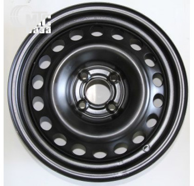 Диски Кременчуг Daewoo black R13 W4.5 PCD4x114.3 ET45 DIA69.1