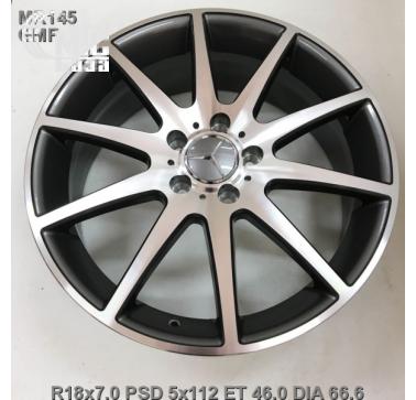 Диски Replay Mercedes (MR145) 7x18 5x112 ET46 DIA66,6 (GMF)