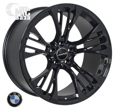 Диски Replica BMW (TL765) 11,5x21 5x120 ET37 DIA74,1 (black)