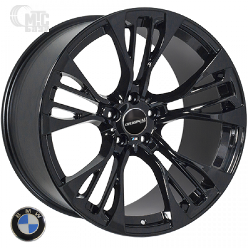 Replica BMW (TL765) 11,5x21 5x120 ET37 DIA74,1 (black)