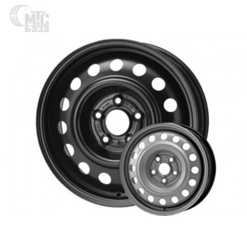 Steel Kapitan 6,5x17 5x115 ET45 DIA70,1 (black)