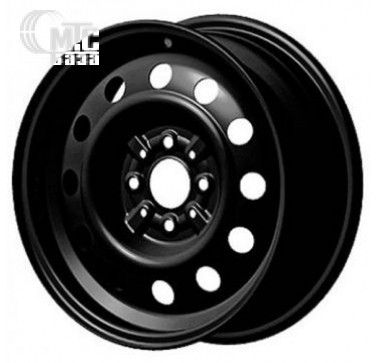 Диски Steel Trebl 6x15 4x100 ET45 DIA56,6 (black)