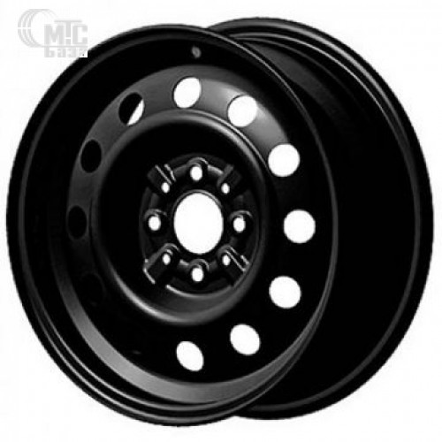 Steel Trebl 6x15 4x100 ET45 DIA56,6 (black)