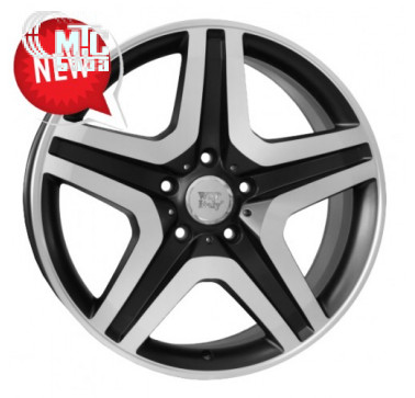 Диски WSP Italy Mercedes (W775) Miyagi 9,5x20 5x130 ET50 DIA84,1 (dull black full polished)