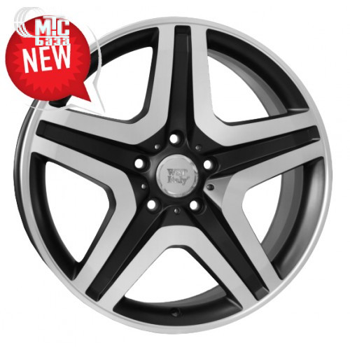 WSP Italy Mercedes (W775) Miyagi 9,5x20 5x130 ET50 DIA84,1 (dull black full polished)