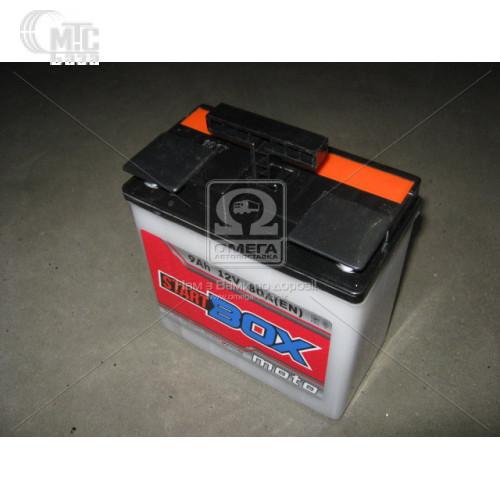 Аккумулятор  StartBOX MOTO [6MТC-9C]  9 Ач R 12V EN80 А 148x86x107мм   клемма круглая