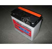 Аккумуляторы Аккумулятор  StartBOX MOTO [3MТC-18C]  18 Ач R 6V EN160 А 148x86x107мм   клемма круглая