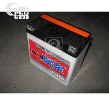 Аккумуляторы Аккумулятор  StartBOX MOTO [3MТC-18C]  18 Ач R 6V EN160 А 148x86x107мм   клемма плоская