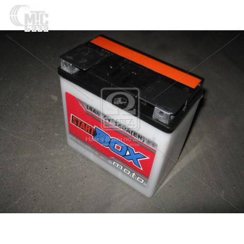 Аккумулятор  StartBOX MOTO [3MТC-18C]  18 Ач R 6V EN160 А 148x86x107мм   клемма плоская