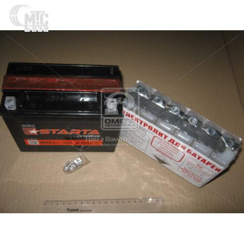 Аккумулятор  Starta AGM  [YTX4L-BS]  4 Ач R 12V EN45 А 113x70x86мм