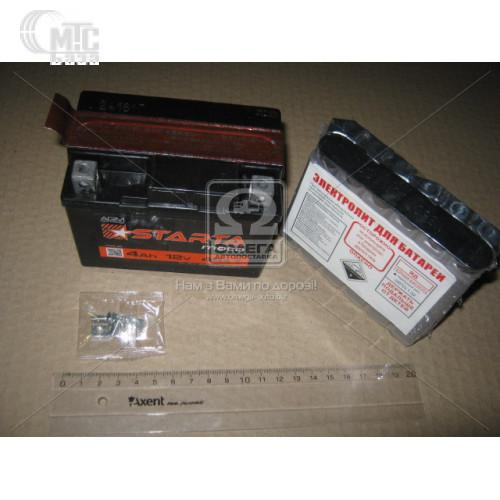 Аккумулятор   9Ah-12v STARTA AGM (YTX9-BS) (148х86х104), EN105