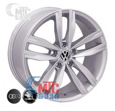 Диски Allante 5037 silver R17 W7.5 PCD5x112 ET45 DIA57.1