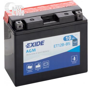 Аккумуляторы Аккумулятор на мотоцикл Exide AGM [YTX9C-BS] EN120 А 135x75x140мм