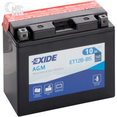 Аккумулятор на мотоцикл Exide AGM [YTX9C-BS] EN120 А 135x75x140мм