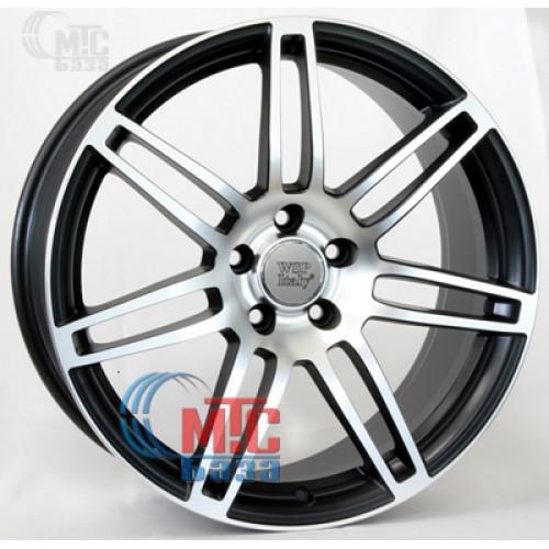 WSP Italy Audi (W557) S8 Cosma Two black polished R18 W8 PCD5x112 ET45 DIA57.1