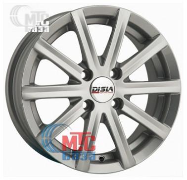 Диски Disla Baretta silver R14 W6 PCD4x98 ET37 DIA72.6