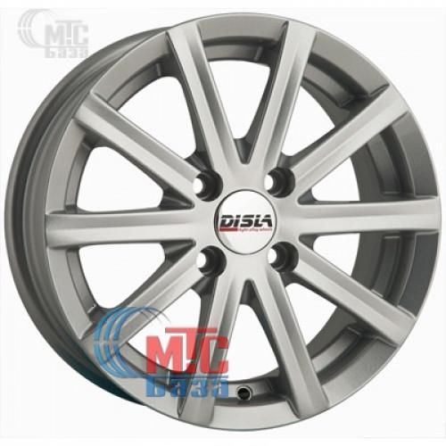 Disla Baretta silver R14 W6 PCD4x98 ET37 DIA72.6