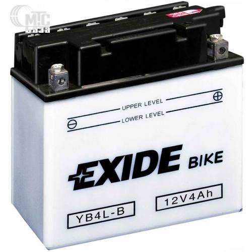 Аккумулятор на мотоцикл Exide Conventional [12N9-4B-1] 6CT-9 Ач, пуск ток EN85 А 135x75x140мм