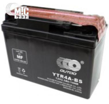 Аккумуляторы Аккумулятор на мотоцикл Outdo Dry Charged MF Sealed Lead Acid [YTR4A-BS] EN45 А 113x48x85мм
