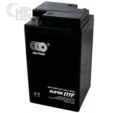 Аккумуляторы Аккумулятор на мотоцикл Outdo Factory Activated MF [YTX4L-BS ()] EN50 А 113x70x85мм
