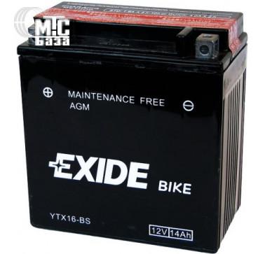 Аккумуляторы Аккумулятор на мотоцикл Exide Maintenance Free [ETZ7S-BS] EN100 А 113x70x105мм