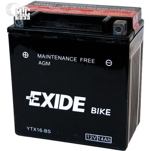 Аккумулятор на мотоцикл Exide Maintenance Free [ETZ7S-BS] EN100 А 113x70x105мм