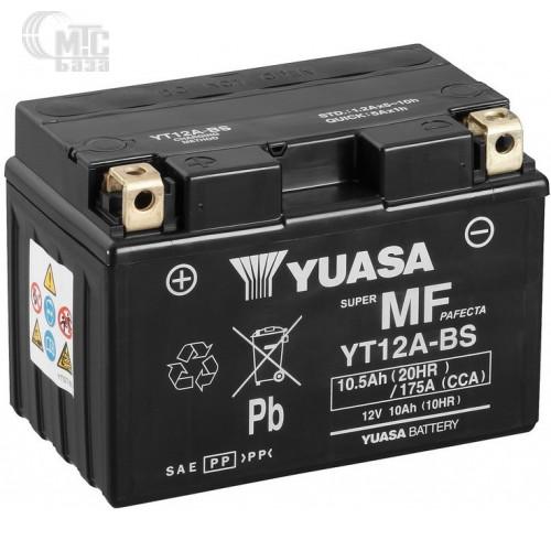 Аккумулятор на мотоцикл GS Yuasa Maintenance Free [YTX4L-BS] 6СТ-3 Ач R EN50 А 114x71x86мм