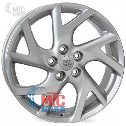 WSP Italy Mazda (W1906) Eclipse silver R17 W7 PCD5x114.3 ET52.5 DIA67.1