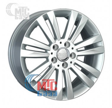 Диски Replay Mercedes (MR129) silver R17 W7.5 PCD5x112 ET37 DIA66.6