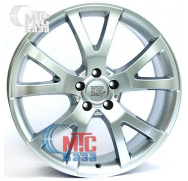 Диски WSP Italy Mercedes (W750) Yalta silver R20 W8.5 PCD5x112 ET60 DIA66.6