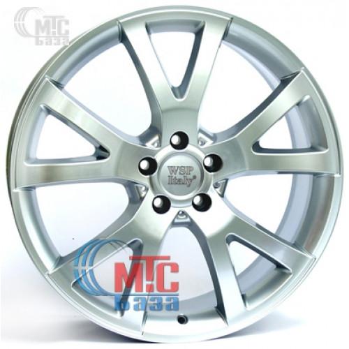 WSP Italy Mercedes (W750) Yalta silver R20 W8.5 PCD5x112 ET60 DIA66.6