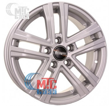 Диски Tech Line TL645 silver R16 W6.5 PCD5x114.3 ET45 DIA67.1