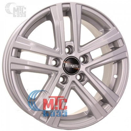 Tech Line TL645 silver R16 W6.5 PCD5x114.3 ET45 DIA67.1