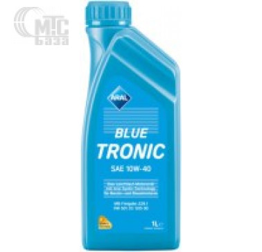 Масла Моторное масло Aral Blue Tronic 10W-40 1L