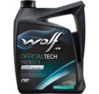 Масла Моторное масло WOLF Officialtech 5W-30 C3 4L