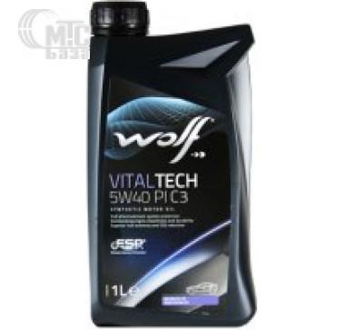 Масла Моторное масло WOLF Vitaltech 5W-40 PI C3 1L