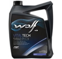 Масла Моторное масло WOLF Vitaltech 5W-40 PI C3 4L