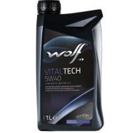 Масла Моторное масло WOLF Vitaltech 5W-40 1L