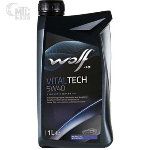 Моторное масло WOLF Vitaltech 5W-40 1L