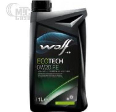 Масла Моторное масло WOLF Ecotech 0W-20 FE 1L