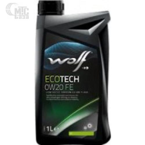 Моторное масло WOLF Ecotech 0W-20 FE 1L